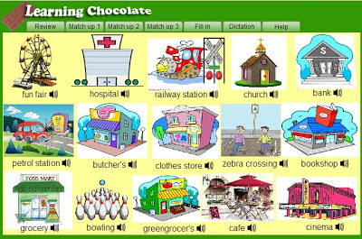 Places clipart english #1