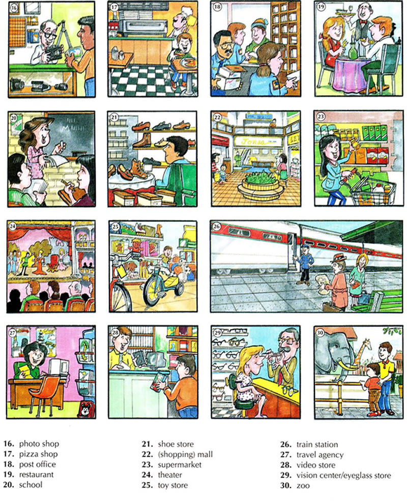 Places clipart english #3