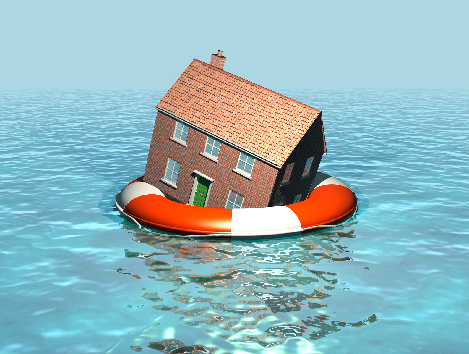 Places clipart flooded #11