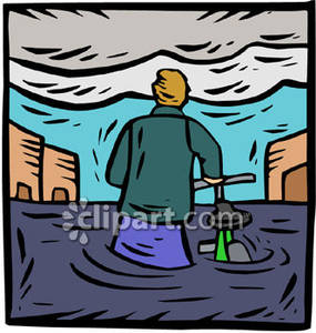 Places clipart flooded #14