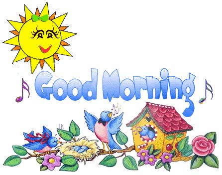 Morning clipart good morning #9