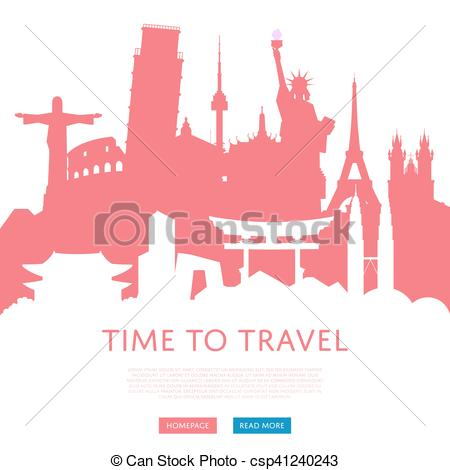 Places clipart home time Of with concept Time concept