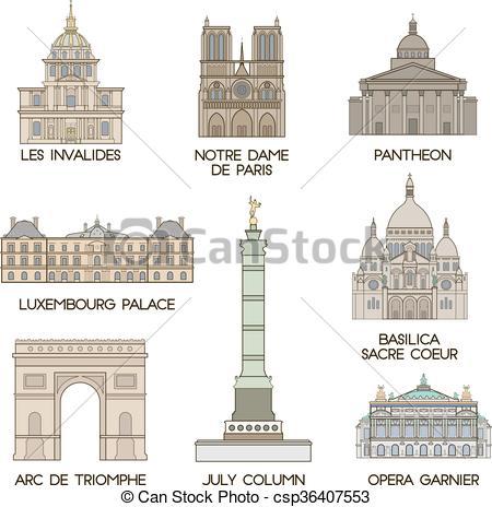 Architecture clipart famous place Places Vector places places of