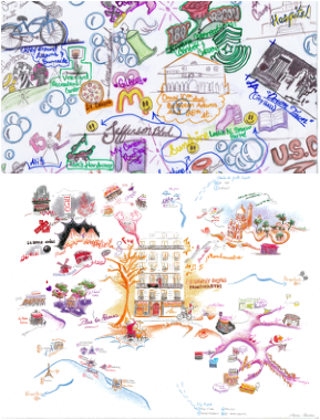 Places clipart neighborhood map #10