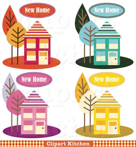 Places clipart new home #2
