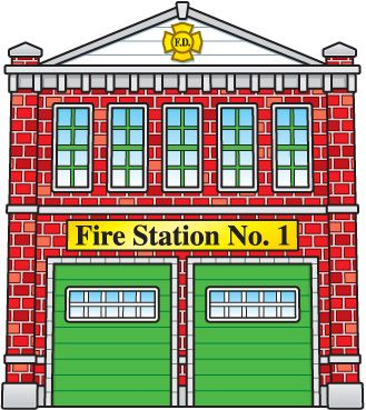 Police clipart fire station #8