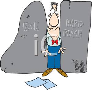 Trapped clipart maze Hard Clipart Rock A Place