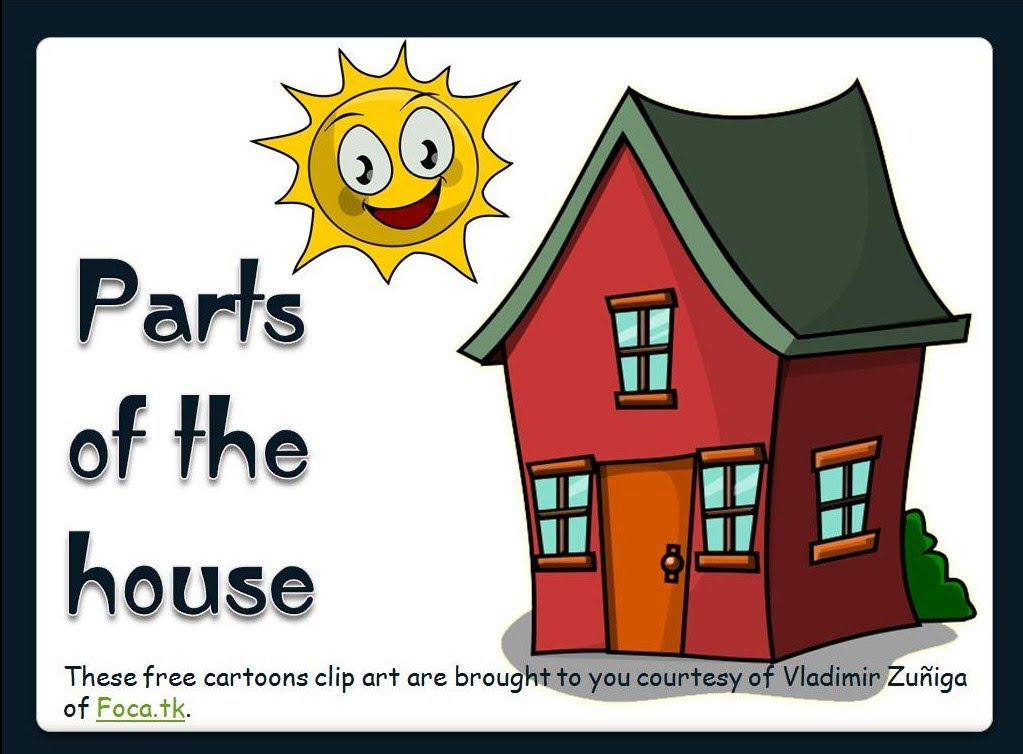 Hosue clipart part the house The House of Parts House