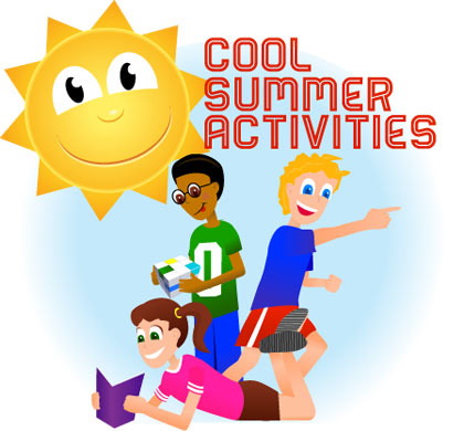 Vacation clipart summer activity Places Foods Unique Cool For