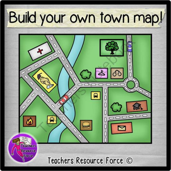 Community clipart town From Community town your line