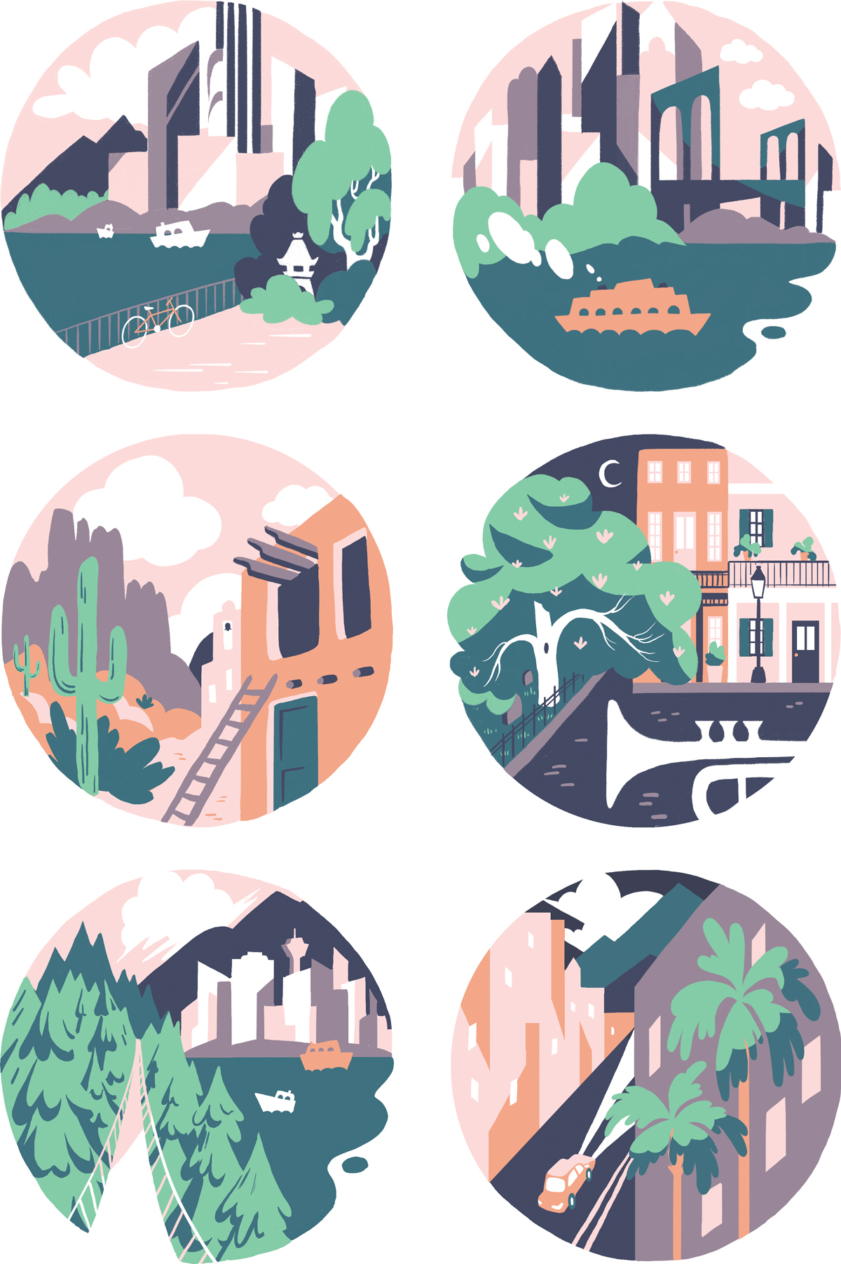 Places clipart to live #3
