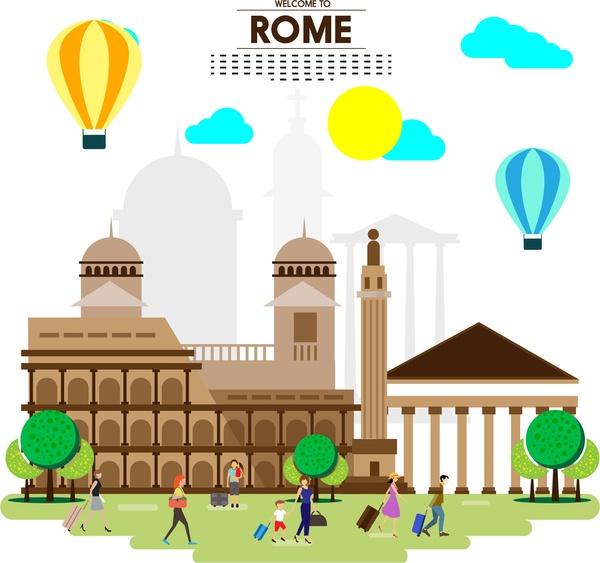 Places clipart tourism #4