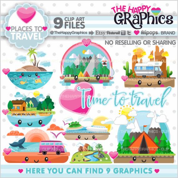 Places clipart tourism Places Clipart Graphic USE Travel