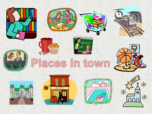 Places clipart town Teaching in Mortimer007 Places town