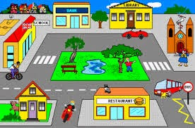 Places clipart town TOWN!!! blog Esmeralda's Places MY