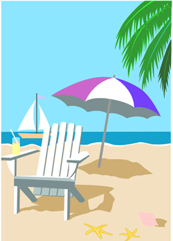 Sailboat clipart beach Go I chair beach Beach