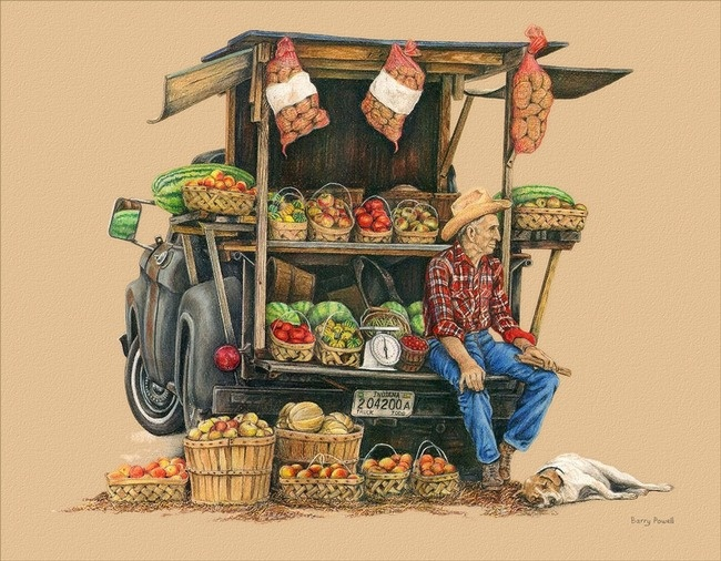 Market clipart vegitable Farmers at Shop art and