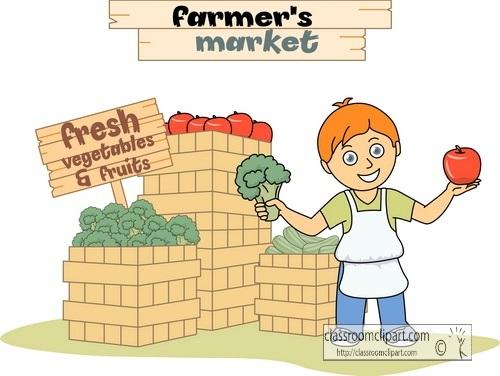 Places clipart vegetable market #3