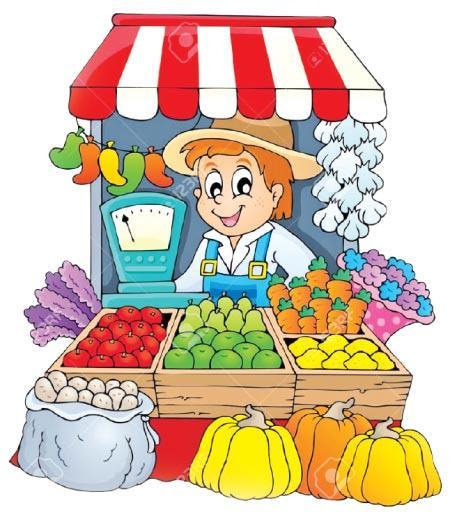 Places clipart vegetable market #13