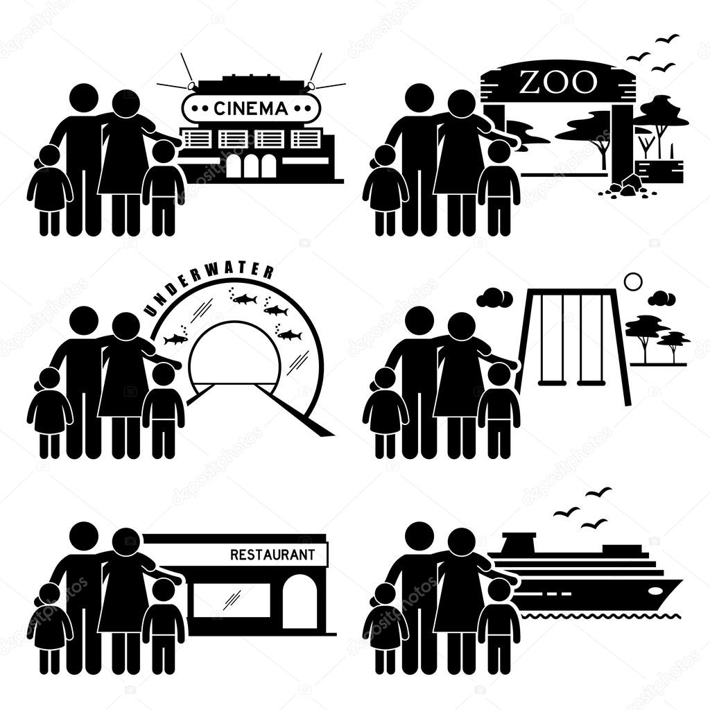 Places clipart zoo Of Theme Zoo playground pictogram