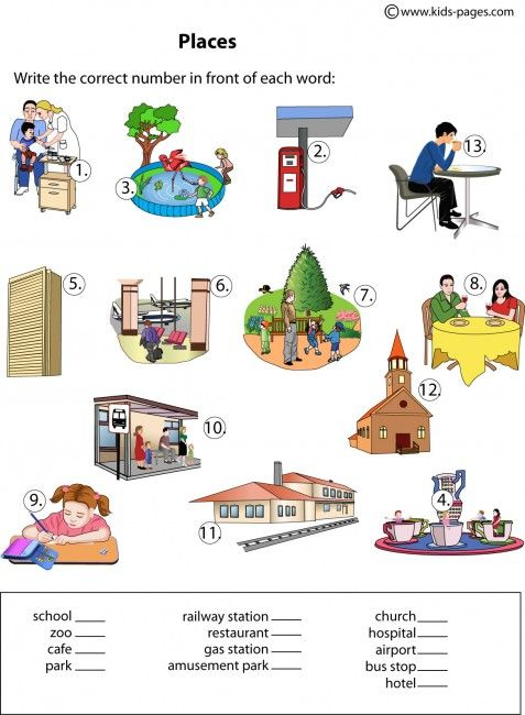 Places clipart zoo Worksheets best 39 images on
