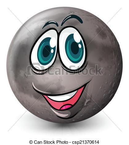 Planet clipart grey Of grey A Clip a