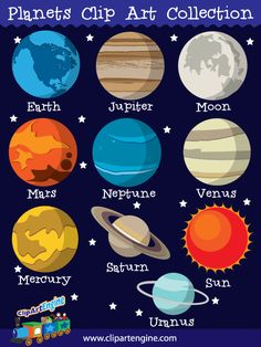 Planet clipart social science Royalty Planet System Collection Solar