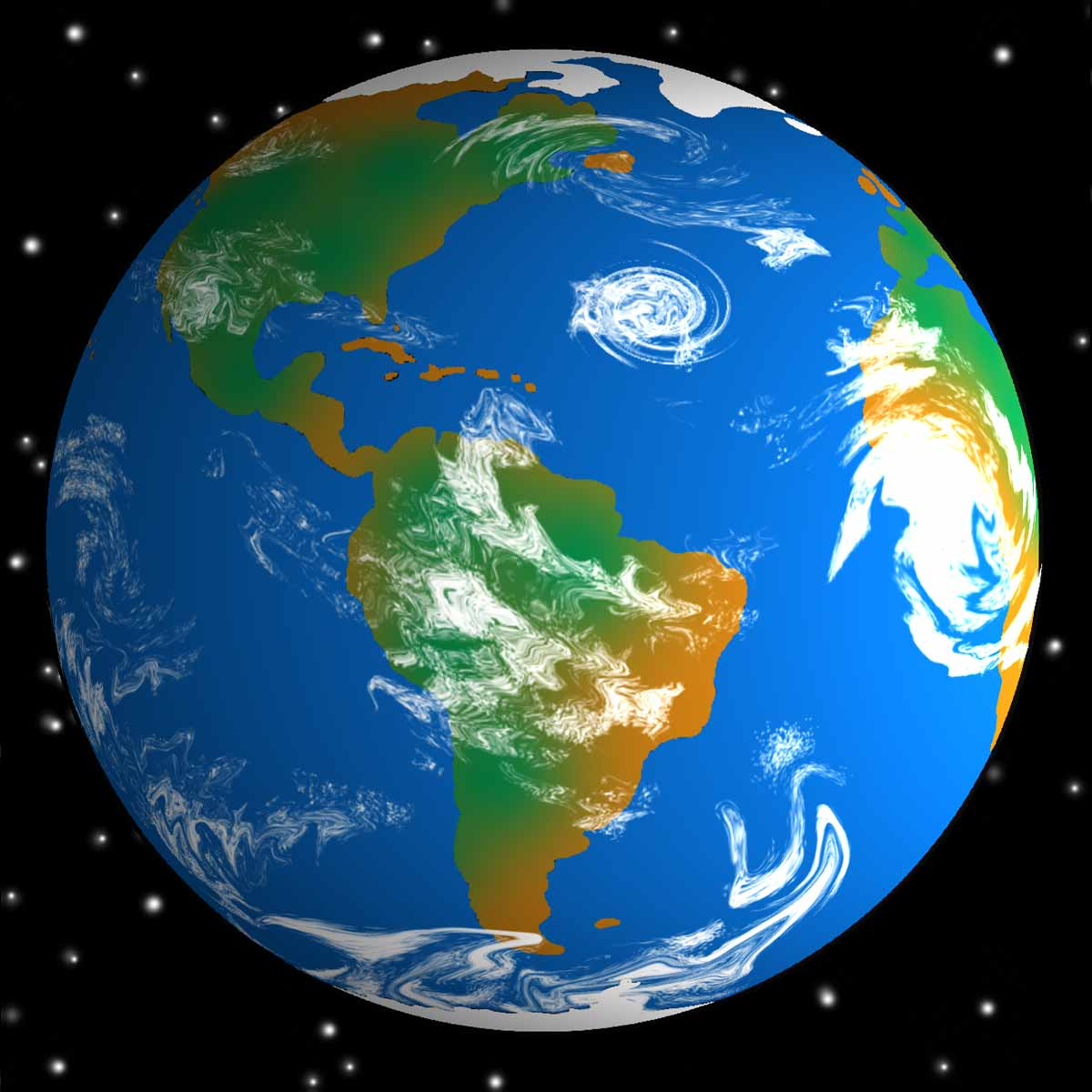 Planet Earth clipart airplane flying Clipart pics large image earth