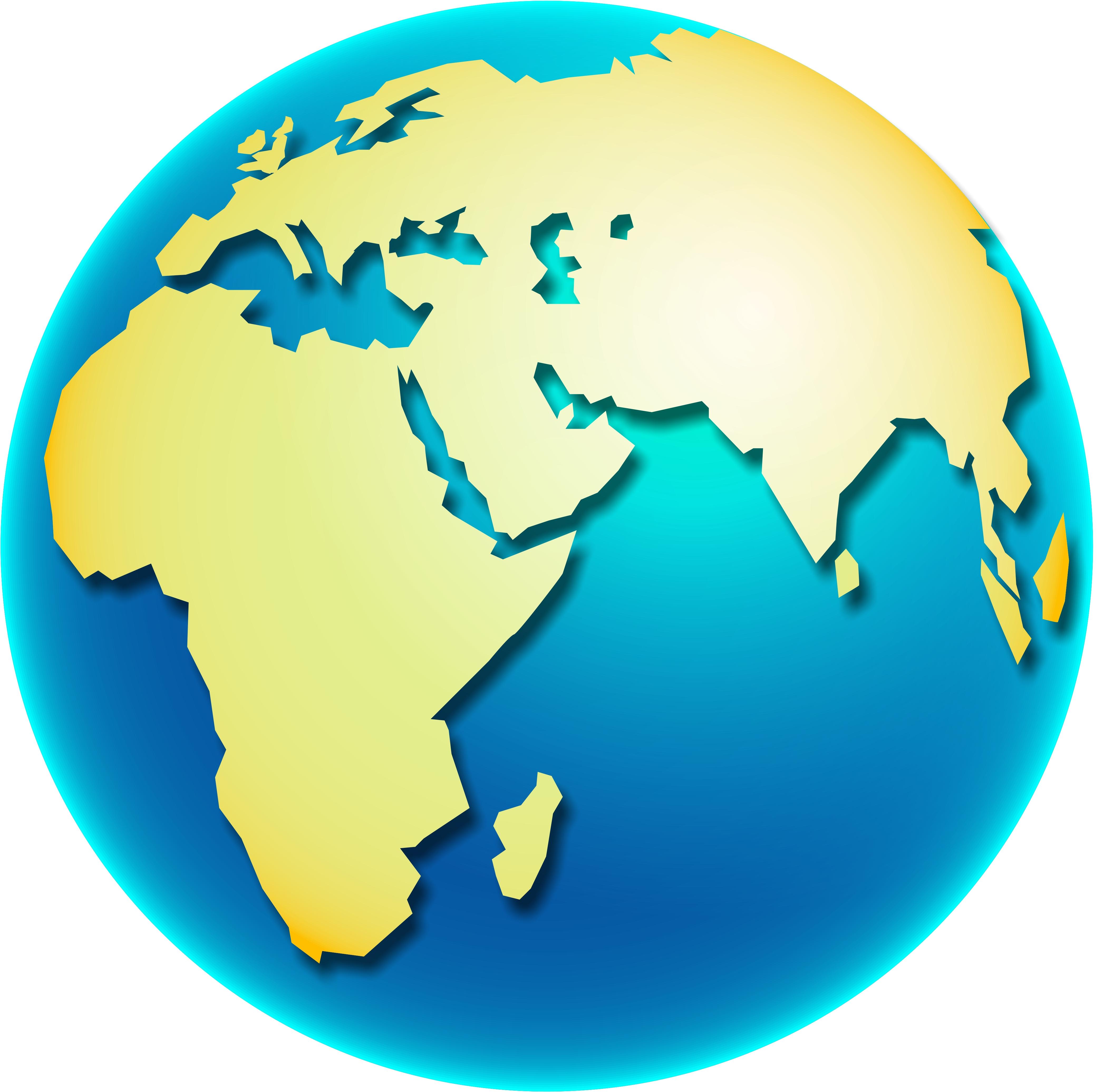 Asians clipart globe Free com art globe clip