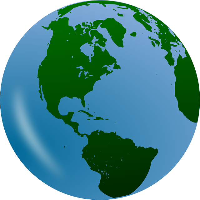 Continent clipart international Planet and #25608 Earth Free
