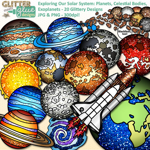 Planet Earth clipart earth science #12
