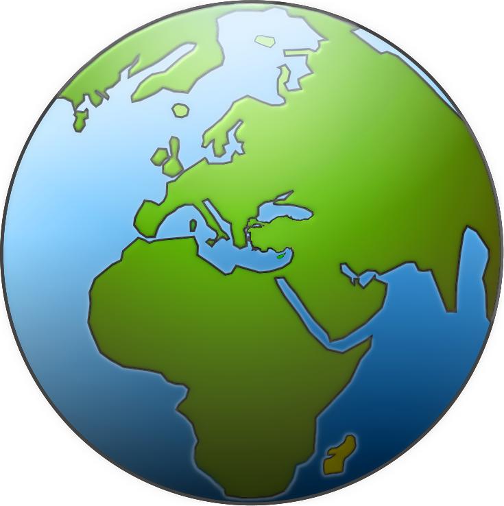 Geography clipart globe Globe black Globe 3 free
