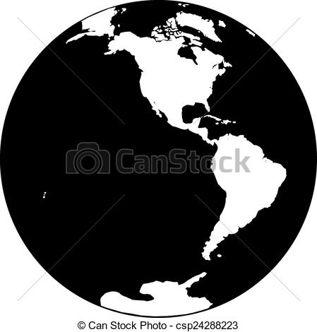 Planet Earth clipart graphic  Earth Vector Beautiful and