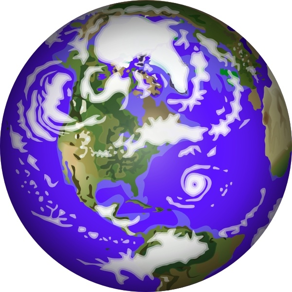 Planet Earth clipart graphic Office Earth art Free in