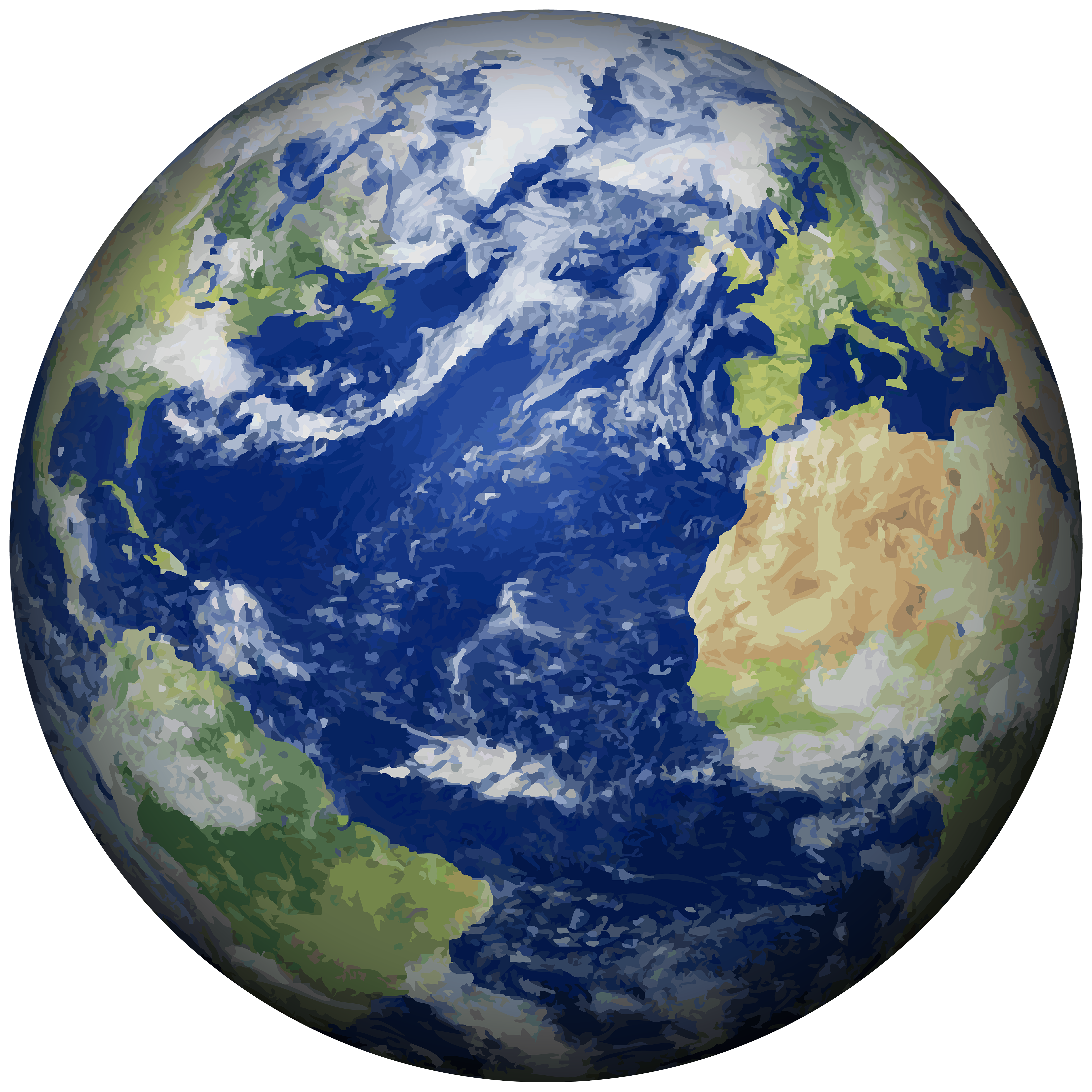 Planet Earth clipart half earth PNG Clip Best Clip Earth