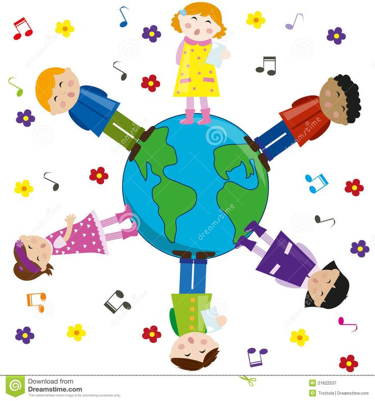 Planet Earth clipart multiculturalism Illustration 45 On Children Planet