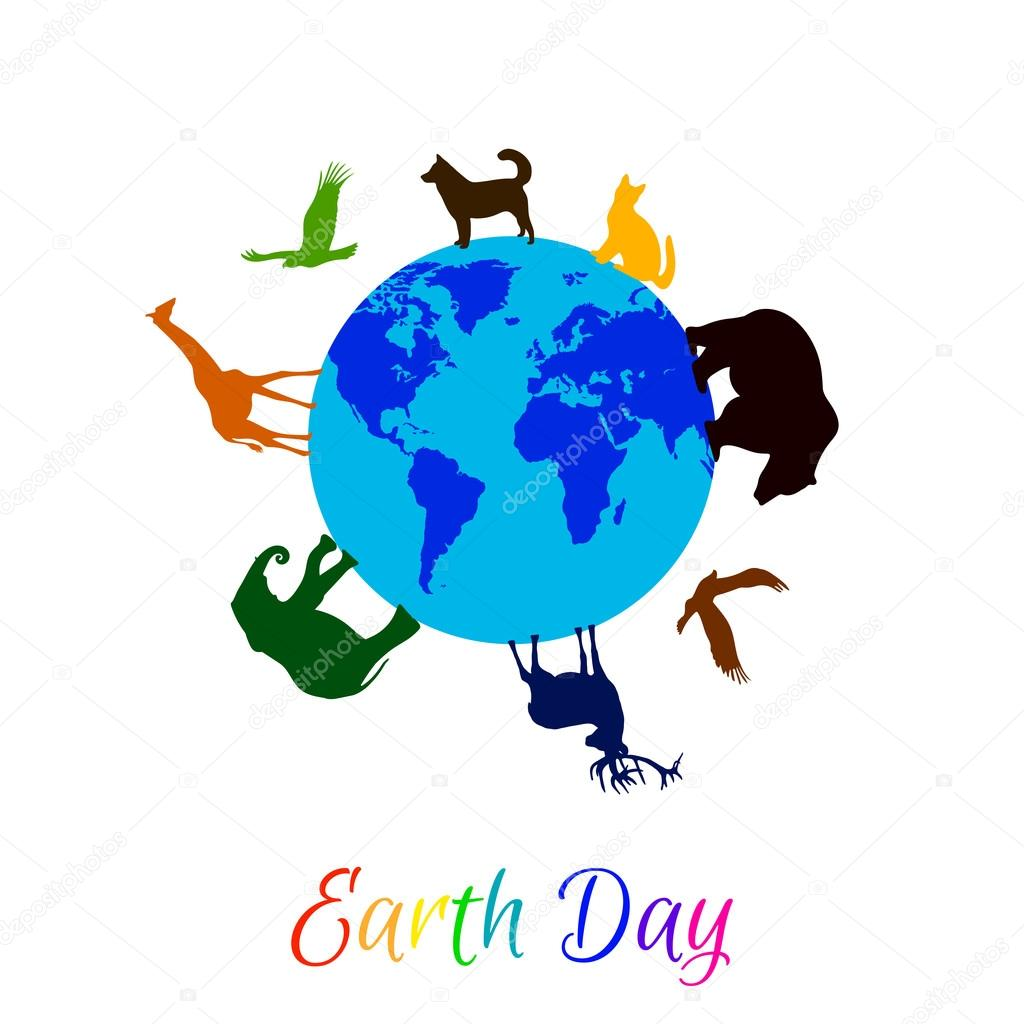 Planet Earth clipart silhouette #8