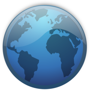 Planet Earth clipart vector #1