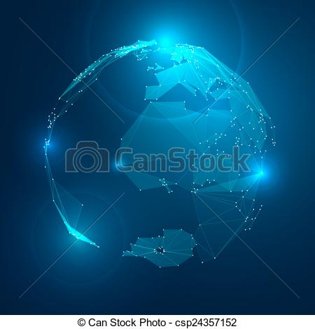 Planet Earth clipart vector In Earth Illustration of Planet