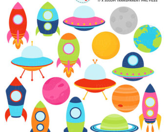 Planets clipart Space & Clipart space planets
