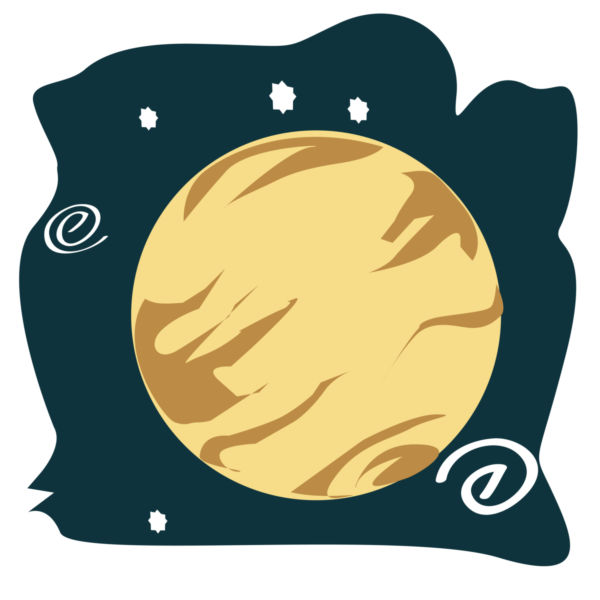 Planet clipart venus The cliparts Clipart  asteroid