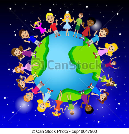 Planet Earth clipart graphic Planet little on of child