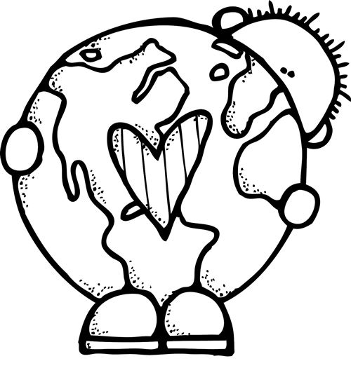 Planets clipart earth day #9