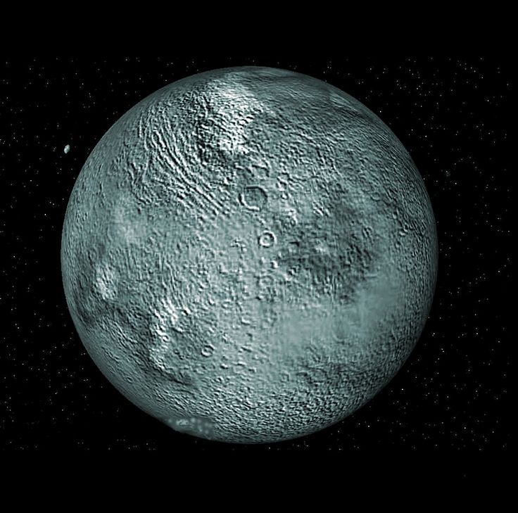 Drawn dwarf space The Pluto a our 20+