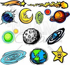 Planets clipart face #7