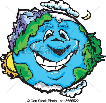 Planets clipart face #10