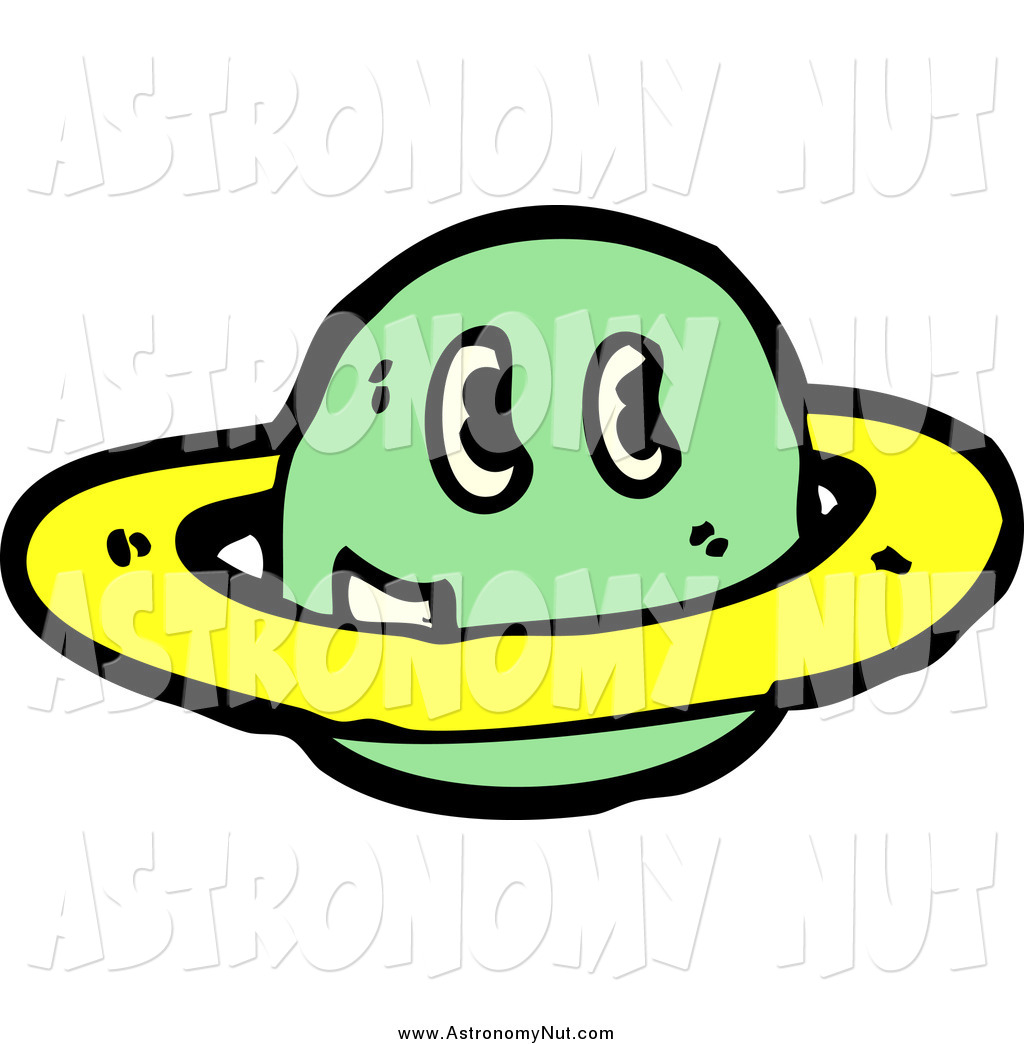 Planets clipart face #2