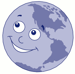Planets clipart face #3