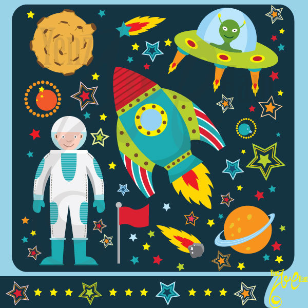 Science clipart outer space Art Like Outer space this