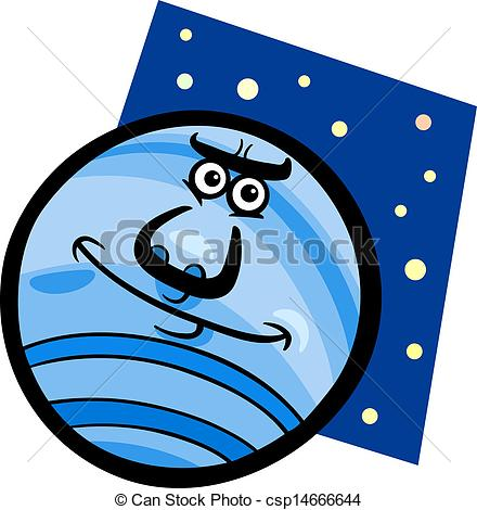 Planet clipart funny Of funny planet Cartoon neptune